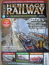 HERITAGE RAILWAY THE COMPLETE STEAM NEWS MAGAZINE ISSUE 157 NOVEMBER 24 2011