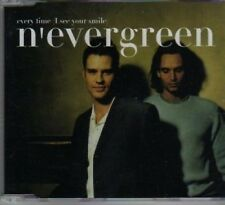 (BD36) N'Evergreen,Every Time (I See You Smile- 2000 CD