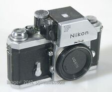 NIKON F BODY WITH METERED HEAD-WORKS WITH BODY CAP