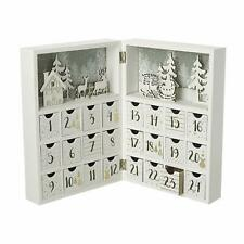 Heaven Sends Merry Christmas Wooden Book Advent Calendar - Lovely Christmas Gift