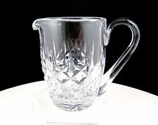 """WATERFORD CRYSTAL GIFTWARE CRISS CROSS AND VERTICAL CUTS 3 7/8"""" CREAMER"""