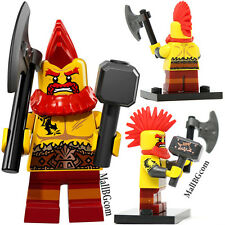 LEGO Minifigures Series 17 | 710138 Collectible Opened Pack No: 10 Battle Dwarf