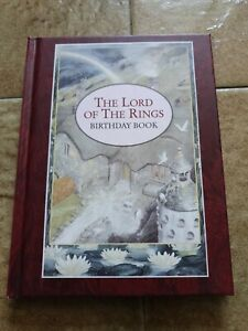 The Lord of The Rings Birthday Book, 1993, illustrated by Alan Lee