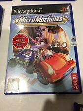 Micro Machines, PS2, complete, tested, PlayStation 2