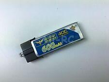 2X e-Flite BLADE Inductrix FPV + 600mAh 3.7V 40C LiPo Battery EFLB5001S25UM