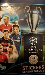 UEFA CHAMPIONS LEAGUE 2015/2016 X5O LOOSE STICKERS
