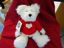 """Boyds Bears! """"Juliet S. Bearlove"""" Wearing Sweater W/ A Heart! New W/Tags!"""