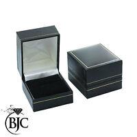 BJC 9 ct Oro blanco Tanzanita Y Diamante tamaño K 1/2 anillo de vestir R28