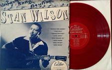 "STAN WILSON - SELF TITLED - CAVALIER 5001 - 10"" LP - RED VINYL"