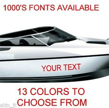 Custom Boat Name Graphics,Decals,Vinyl Stickers