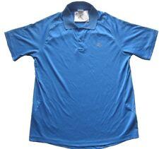 ADIDAS Herren Poloshirt - Sportshirt in Blau Gr. S