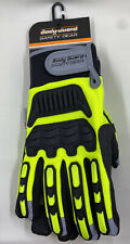 Body Guard Safety Gear Winter Impact Pvc Palm Gloves Size L New