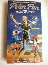 NEW Peter Pan Mary Martin Musical VHS GOODTIMES PLATINUM 1989 SEALED