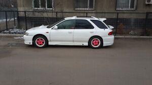 Sti wing 2pcs Subaru Impreza GF 1993-1999