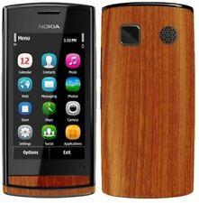 Skinomi Light Wood Phone Full Body Skin+Screen Protector Cover for Nokia 500