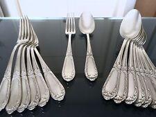 Ménagère en métal argenté, couverts , fourchette , cuillère , service