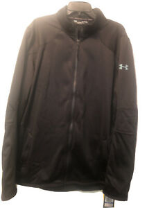 Under Armour Coldgear Reactor Jacket Fitted  XL - Black