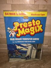 BATMAN & ROBIN VINTAGE PRESTO MAGIC WAREHOUSE CAPER SEALED