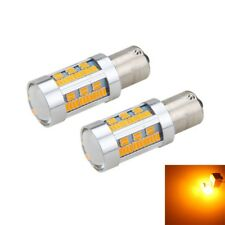 150-SMD 44W Amber Yellow No Error 5160 LED Bulbs Front Rear Turn Signal Lights