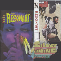 RESONANT #1 Set of Two COVER A + B HOMAGE VARIANT DAVID ANDRY VAULT