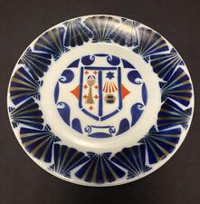 Sargadelos Spain Coat of Arms Plate