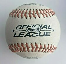 1 BALL RAWLINGS OFFICIAL LEAGUE CROLB BASEBALL BALL ORIGINAL 5 OZ 9 Inch Cork