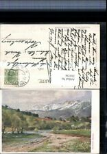 310754,Künstler AK Hugo Darnaut Reichenau an d. Rax Raxalpe Bergkulisse