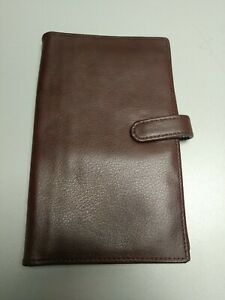Day Timer Brown Leather Organizer