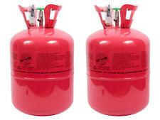 2 Stk. Helium-Gasflasche Ballon-Gas Einweg für ca. 100 Luftballons Folienballons