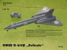 "EMW A-9/6P ""Kolkrabe""      1/72 Bird Models Resinbausatz / resin kit"
