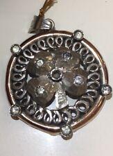 Antique Very Old 8K Yellow Gold Diamond Pendant  & O,75 Carat ULTRA NICE