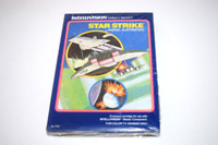 Star Strike Mattel Intellivision Video Game New in Shrinkwrapped Box