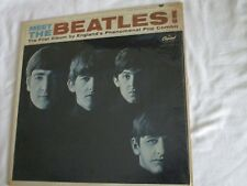 Capital Records - MEET THE BEATLES! Rainbow T2047 Mono-Shrink Wrap CO-VG++