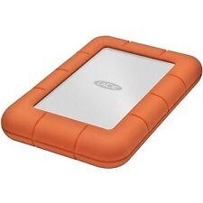 ! nuevo! Lacie Rugged Mini 2 TB Disco Duro Externo Portátil USB 3.0 5400Rpm Naranja