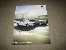 BMW 4er Coupè & Cabrio Cabriolet prospetto brochure di 2/2015, 84 pagine