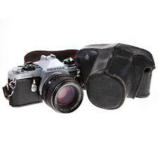 PENTAX ME SUPER 35MM SLR FILM CAMERA & SMC PENTAX 50MM F1.4 LENS - EXCELLENT