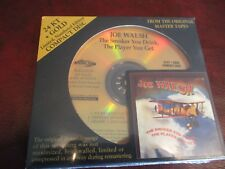 JOE WALSH SMOKER YOU DRINK HDCD 24 KARAT GOLD AUDIO FIDELITY AUDIOPHILE RARE CD
