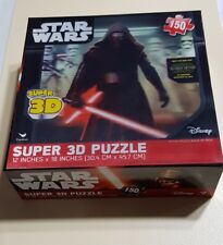 DISNEY CARDINAL STAR WARS SUPER 3D PUZZLE  150 PEICES