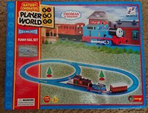 Player World Thomas & Friends Battery Operated Train Set (2277-2)  NEW