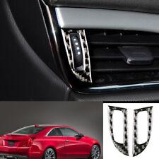 Carbon Fiber ABS Front Bumper Lip Cover Modified For Cadillac ATS ATS-L 2015-18