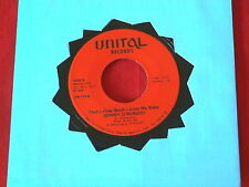 SONNY D'NUNZIO~ THAT'S HOW MUCH I LOVE MY BABY~ OUT OF PITTS~CALIFORNIA~ SOUL 45