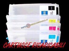 CARTUCCE REFILL RICARICABILI PER HP PRO OFFICEJET PRO 8000 8000W 8500A 8500 W