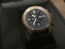 Oris Big Crown X1 Calculator Automatic chronograph PVD 46mm with extra Band