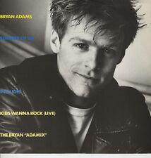 "Bryan Adams Summer Of '69 / The Bryan Adamix , Kids Wanna Rock (Live) UK 12"""