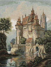 Cross Stitch Embroidery  Kit by Panna ZU-1280 Castle in The Mountains