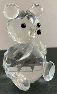"Swarovski "" Crystal Sitting Bear "" Figurine - 2.5"" Tall"