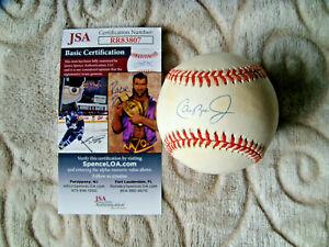 Cal Ripken signed baseball official american league OAL ball autograph JSA COA