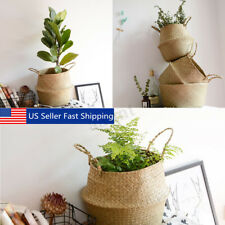 """COUNTRY FARMHOUSE NATURAL WILLOW DOOR BASKET WALL POCKET FLORAL SUPPLY 14/""""H"""