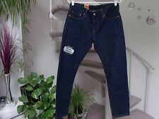 Women's Levi's 501 Ct Tapered Leg Button Fly Cropped Jeans Size 32X27 - NWT