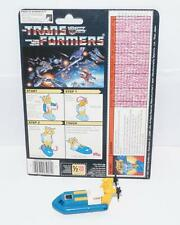 Seaspray With CARDBACK Vintage Hasbro 1985 G1 Transformers Action Figure
